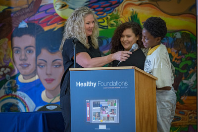 To educate students on how to cultivate and maintain healthy relationships, Mary Kay Inc., loveisrespect and Everfi partnered to launch a Healthy Foundations program.  The first-of-its-kind digital program was introduced to students and educators at Martin Middle School in Austin, Texas on Nov. 16.