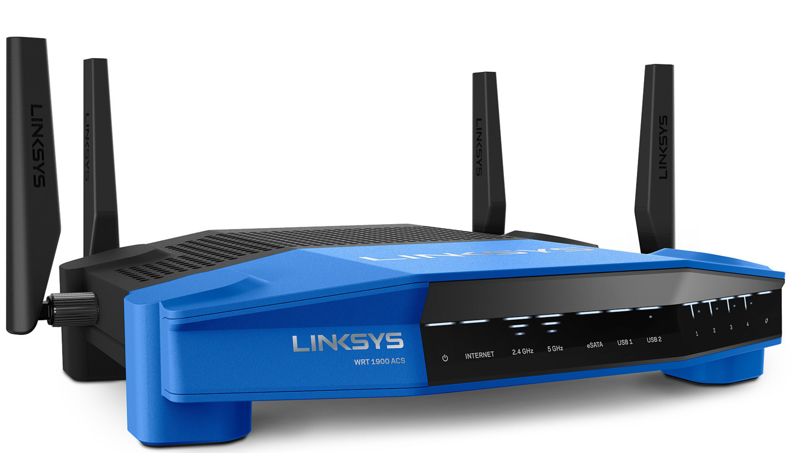Linksys WRT routers - WRT1900AC, WRT1900ACS and WRT1200AC now support DD-WRT