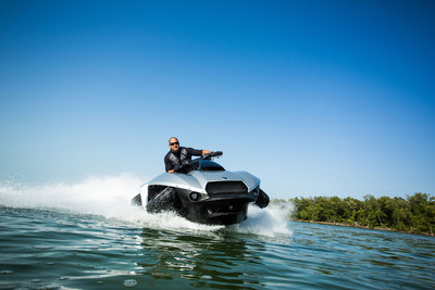 The GIBBS Quadski.  (PRNewsFoto/Gibbs Sports Amphibians, Inc.)