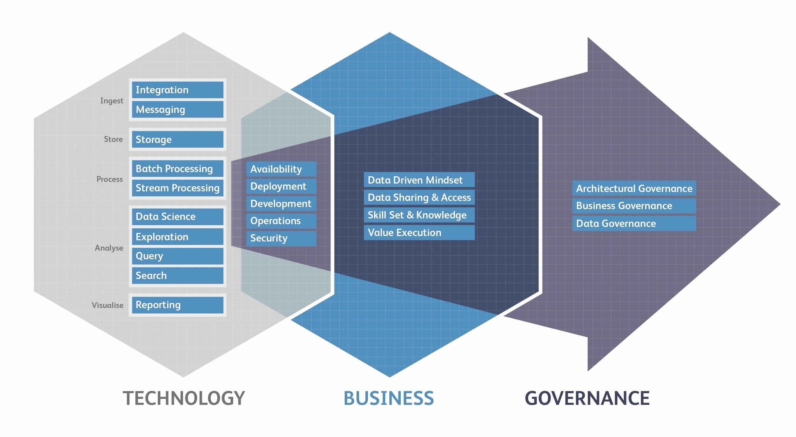 Data Capability Framework - 22 capabilities evaluated through the process (PRNewsFoto/Big Data Partnership)