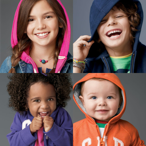 Show Off Your Good Jeans: Gap Searches for the New Faces of babyGap and GapKids With Its Fifth