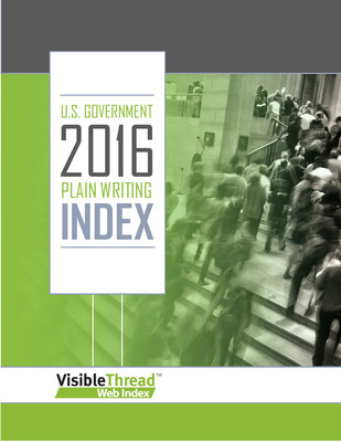 VisibleThread's 2016 U.S. Government Index Report, a comparative study of the quality of content on a set of federal agency websites, finds that agency communication is worse today than it was five years ago.