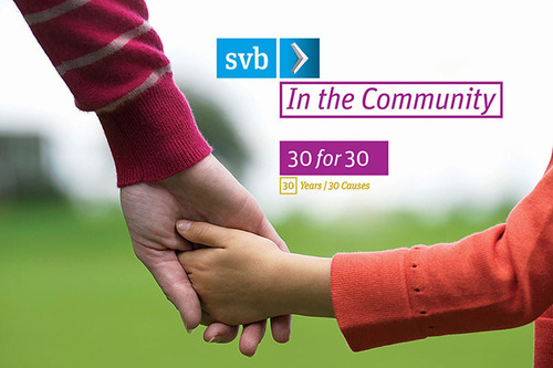 Silicon Valley Bank, financial partner to the innovation sector, its investors, and the wine industry, launched a global community service campaign in honor of the company's 30th anniversary. Silicon Valley Bank's 1,650 employees in more than 30 cities across the US and internationally, will participate in volunteer events for not-for-profit organizations in their local area throughout the remainder of the year. By year end, the company expects to complete 30 events in 15 states and five countries.  (PRNewsFoto/Silicon Valley Bank)