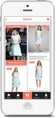 Find visually similar alternatives using Chic-Finder. (PRNewsFoto/Chic-Finder) (PRNewsFoto/CHIC-FINDER)