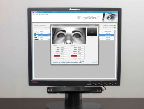 SMI RED-oem Eye Tracker Empowers Converus' EyeDetect Lie Detection Technology www.smivision.com (PRNewsFoto/SensoMotoric Instruments GmbH)