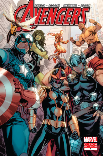 Heroes Welcome: a new Avengers comic book from Marvel and BBDO New York (PRNewsFoto/BBDO New York)