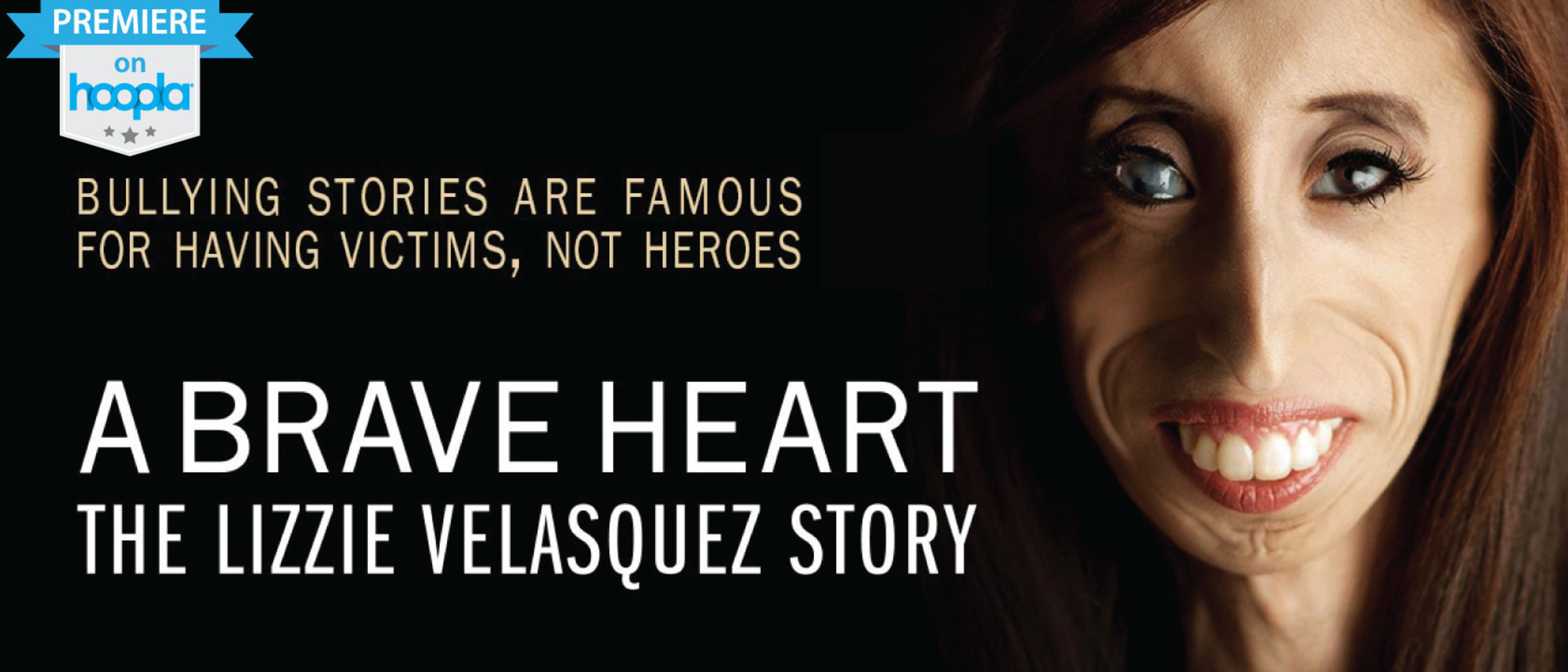 'A Brave Heart: The Lizzie Velasquez Story' available on hoopla digital as the film arrives in theaters on September 25th