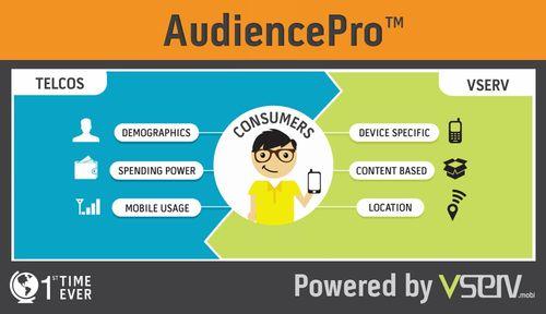 Vserv.mobi presenta la revolucionaria plataforma AudiencePro; firma con Airtel como primera