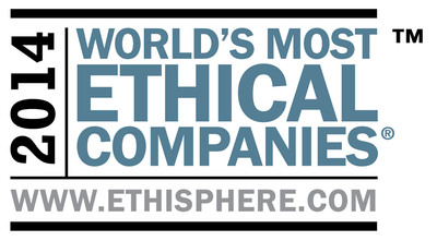 Ethisphere Institute - World's Most Ethical Companies logo.  (PRNewsFoto/Marriott International, Inc.)