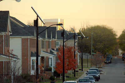 Sol Inc. and PHL installed 21 solar outdoor lights throughout the development. (PRNewsFoto/Sol Inc.)