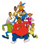 """FAT ALBERT COMING TO BOUNCE TV -- Bounce TV (http://bouncetv.com) has acquired the television rights to all 113 episodes of Fat Albert and the Cosby Kids(TM) series and will launch the show with a special """"Hey! Hey! Hey! It's New Year's Day"""" Marathon on Sunday, Jan. 1, 2012 starting at 12:00 Noon ET. Bounce TV will rebrand its Tuesday night line-up as """"Fat Tuesdays"""" to feature four primetime episodes of the series back-to-back every week at 8:00 p.m. ET starting Tuesday, Jan. 3.  (PRNewsFoto/Bounce TV)"""