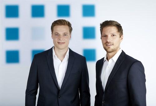 MediDate GmbH_Founder Eiko Gerten (left) and Nico Kutschenko - Photographer Michael Handelmann (PRNewsFoto/MediDate GmbH) (PRNewsFoto/MediDate GmbH)