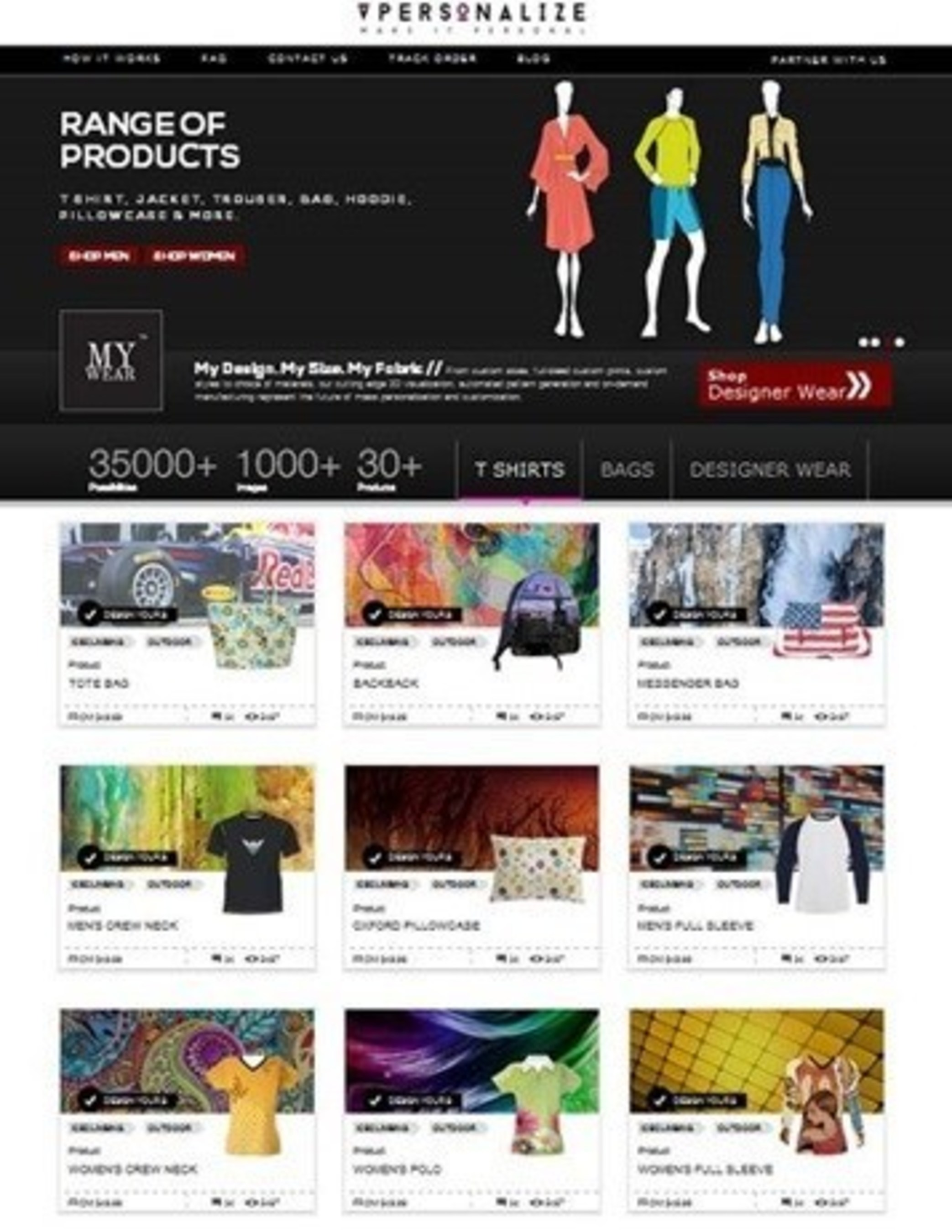 Fashion Designers Turn to vPersonalize.com for Making Exclusive Apparel and Accessories in Small