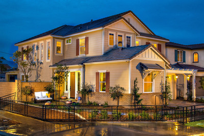 Standard Pacific Homes introduces a collection of stunning new home designs at Emerson in College Park, Chino's upscale, master-planned community. A grand opening celebration is planned for Saturday, April 12. For more information visit standardpacifichomes.com.  (PRNewsFoto/Standard Pacific)