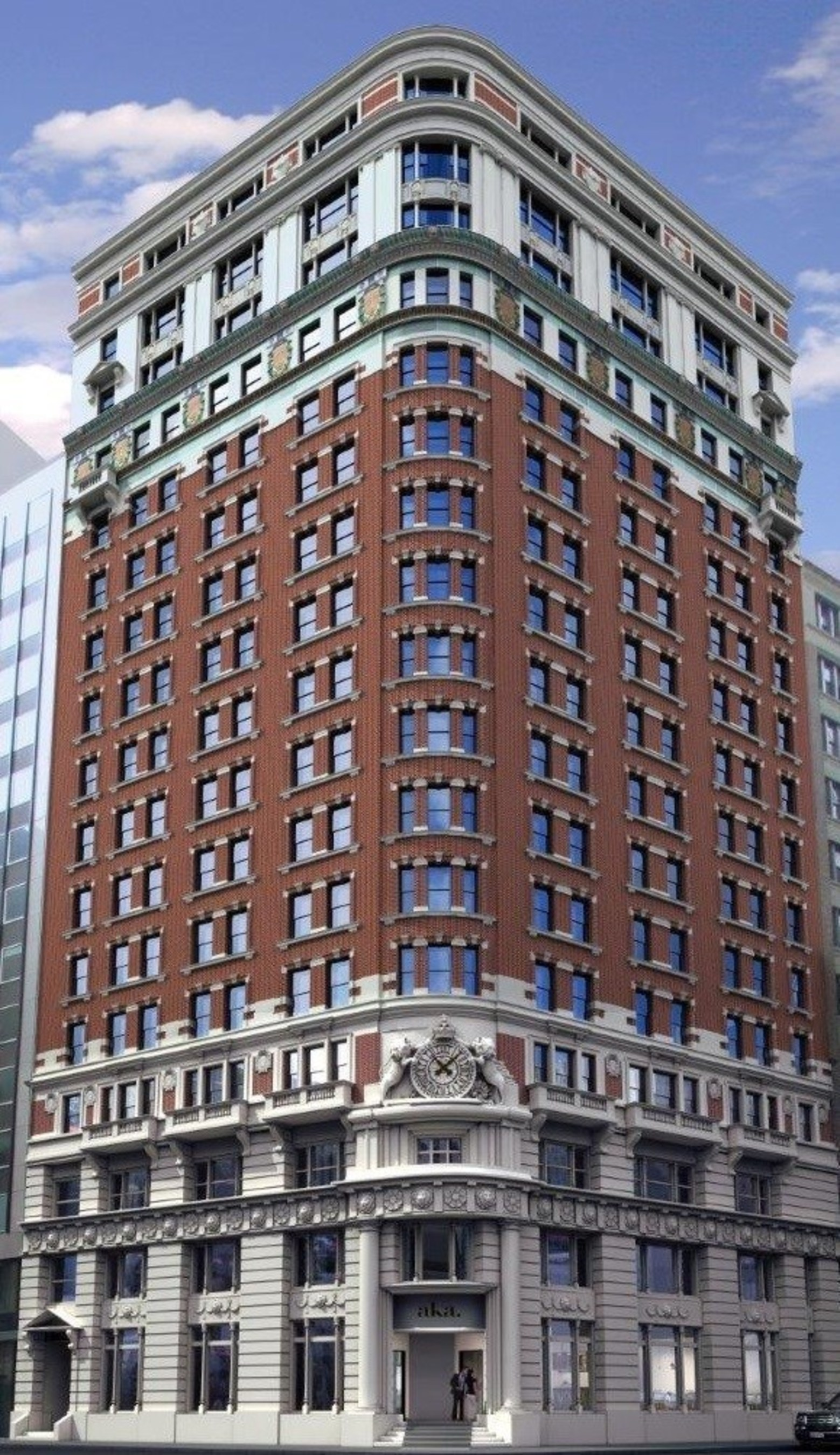 AKA Wall Street, the first luxury all-residential hotel to arrive in NYC's New Downtown, will open late spring 2016.