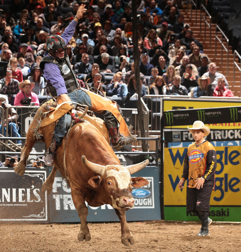 Chicken Cock Whiskey Makes Bull Riding Debut As Reese Cates Returns To Built Ford Tough Series. (PRNewsFoto/Chicken Cock Whiskey) (PRNewsFoto/CHICKEN COCK WHISKEY)