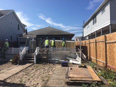 Demo Day in Breezy Point