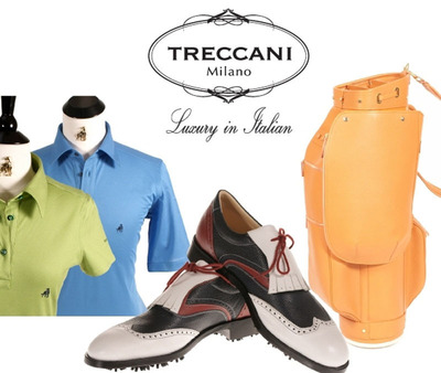 Treccani Milano Luxury Golf Line.  (PRNewsFoto/Treccani Milano)