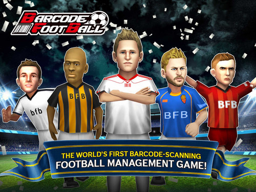 Barcode Football, the world's first barcode-scanning sports management game, is now available in the Apple ...