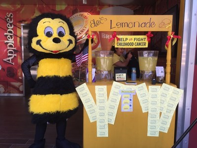 Applebee's franchise groups raised funds for Alex's Lemonade Stand Foundation in a variety of ways, including holding events for guests, such as lemonade stands, golf tournaments, donation nights and more.