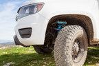 """The 2015 Chevy Colorado OEM Performance kit includes: 2 Front 2.5"""" Remote Reservoir Coilover Shocks and 2 Rear 2.5"""" Piggyback Reservoir Shocks specifically tuned for superior on and off road handling.The standard Front kit increases ride height by 2"""" to allow for larger tires and serves as a leveling kit. The front kit boasts a 12% increase in wheel travel. Rear wheel travel is increased by 15% with King Shocks installed providing much better on and Off-Road performance."""