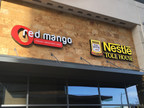 Red Mango and Nestle Toll House Cafe by Chip cobranded store at CityLine in Richardson, TX.