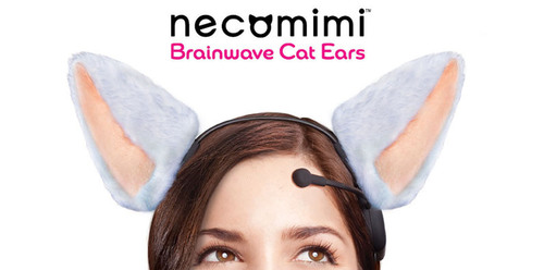 Necomimi brainwave cat ears officially launch in US and are now available
