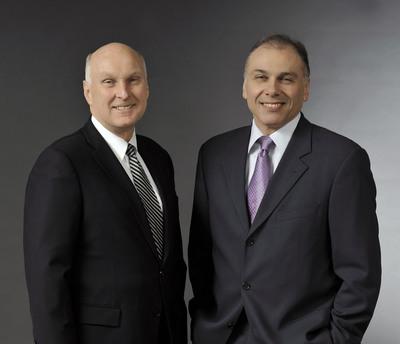 Robert J. Keller and Boris Elisman, ACCO Brands.  (PRNewsFoto/ACCO Brands Corporation)