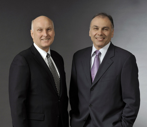 Robert J. Keller and Boris Elisman, ACCO Brands.  (PRNewsFoto/ACCO Brands Corporation)