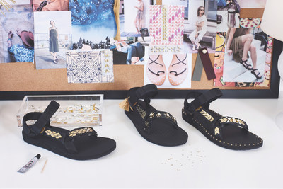 Delivering a dash of DIY-spirit in time for the holiday season, Teva® announces its latest collaboration with popular blogger Erica Chan Coffman of HonestlyWTF, including a do-it-yourself sandal kit with Swarovski crystals that gives instant access to truly personalized style with countless unique design possibilities.