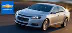 The redesigned 2014 Chevy Malibu is available now at Broadway Automotive.  (PRNewsFoto/Broadway Automotive)