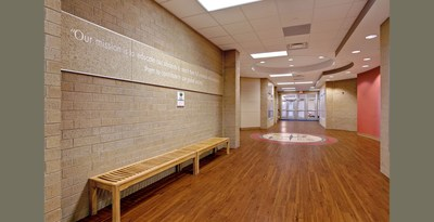 "Armstrong Sheds Light on Schools. A new white paper from Armstrong Commercial Flooring, ""Daylighting and Flooring: Don't Overlook the Issue of Reflectivity,"" introduces reflective flooring as a potential daylighting strategy to reduce the reliance on artificial light, a key strategy in creating environmentally friendly, energy-efficient & operationally effective education spaces."