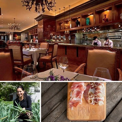 Chef Melissa Kelly of Primo at JW Marriott Orlando, Grande Lakes will serve a peekytoe crab salad on a gougere for attendees of the Chef's Gala, a fundraiser for Heart of Florida United Way. For information about the event, visit www.hfuw.org. To learn more about the restaurant or make a reservation, call 1-407-206-2300 or visit www.marriott.com/MCOJW.