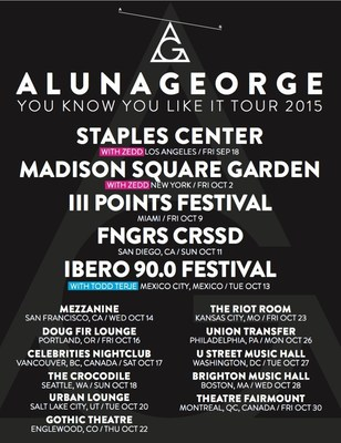 AlunaGeorge Announce Fall Tour Dates, Including Shows With Zedd At L.A.'s Staples Center And NYC's Madison Square Garden