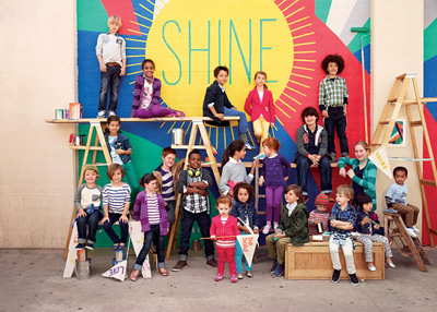 "GapKids ""Shine On"" in Back-to-School Campaign(PRNewsFoto/Gap Inc.)"