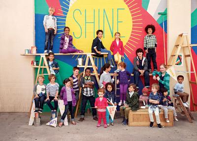 "GapKids ""Shine On"" in Back-to-School Campaign(PRNewsFoto/Gap Inc.)"