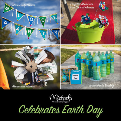 Michaels' Upcycling Party Ideas.  (PRNewsFoto/Michaels Stores, Inc.)