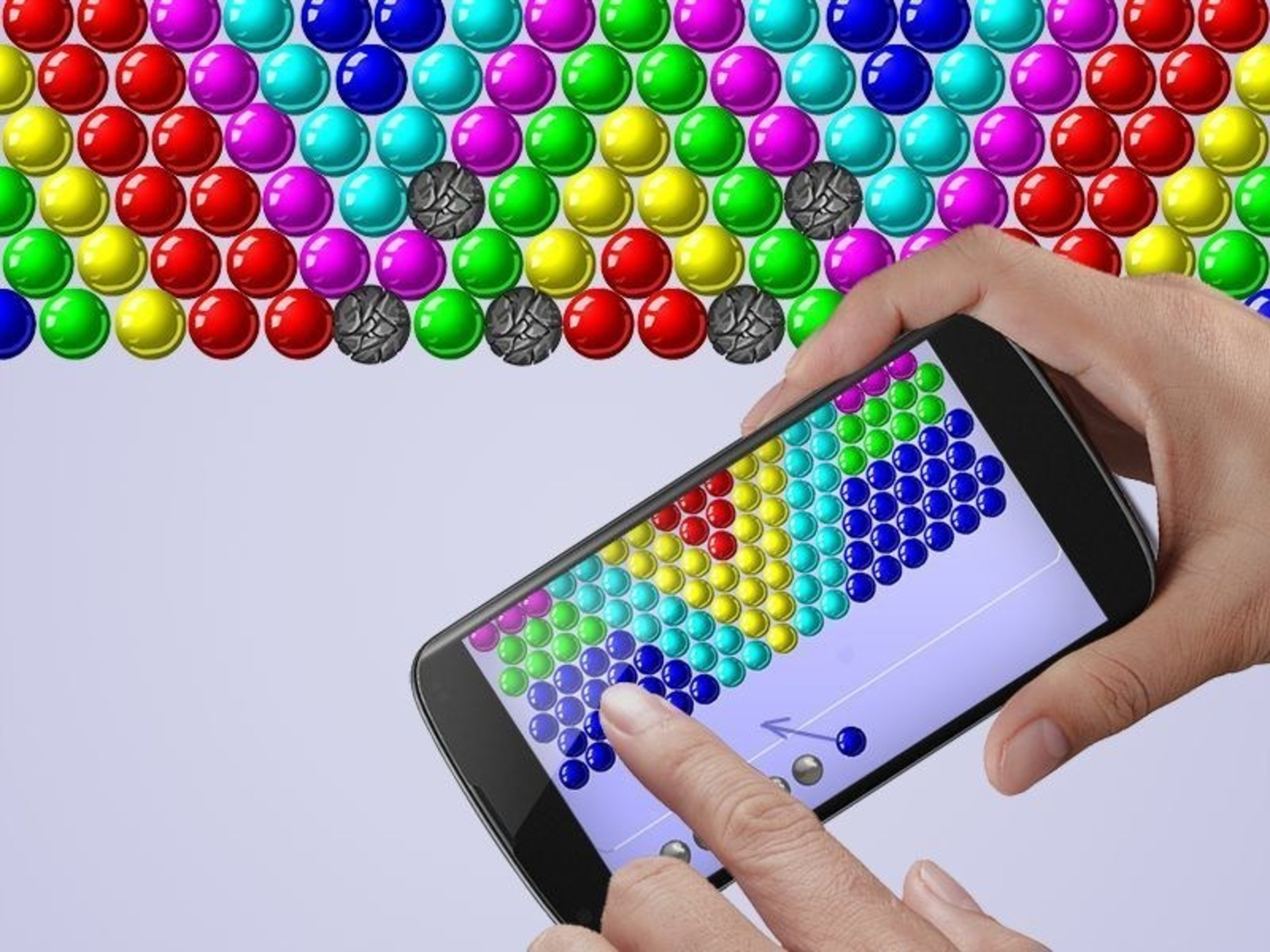 Bubble Shooter Arcade, the brand new Bubble game by Ilyon Dynamics, features a brand new game mode with over 400 levels of exciting and addictive fun, updated graphics and gameplay and a unique aim sight.