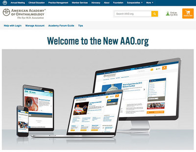 American Academy of Ophthalmology Unveils New, Mobile-Optimized Website