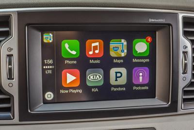 Kia announces Apple CarPlay introduction into key models