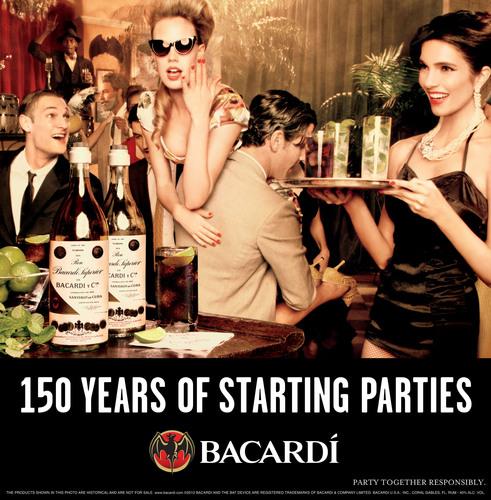 Bacardi dévoile ses 150 ans d'archives
