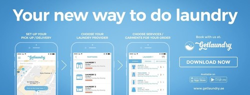 Comfort, Convenience and Choice. Getlaundry allows its users to choose their laundry partner among a crafted list of providers to deliver them various laundry services according to their needs and preference - without the hassle (PRNewsFoto/Getlaundry Technology Services)