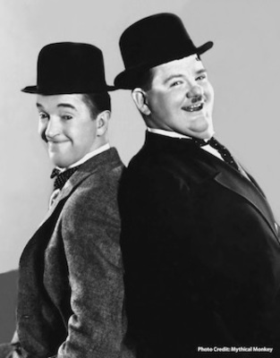 Laurel and Hardy (PRNewsFoto/The Hollywood Museum)