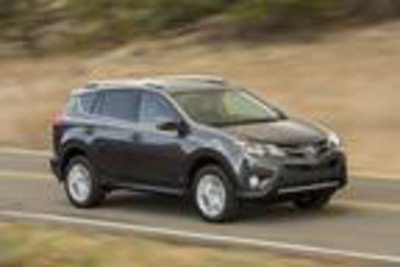 The newly re-designed 2013 Toyota Rav4 will be available in Naperville, IL at Toyota of Naperville soon.  (PRNewsFoto/Toyota of Naperville)