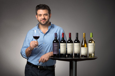 Adam Richman for Alamos Wines.  (PRNewsFoto/Alamos Wines)