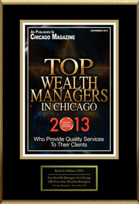 """Brett D. White CFP(R), APMA Selected For """"Top Wealth Managers In Chicago"""". (PRNewsFoto/American Registry) (PRNewsFoto/AMERICAN REGISTRY)"""