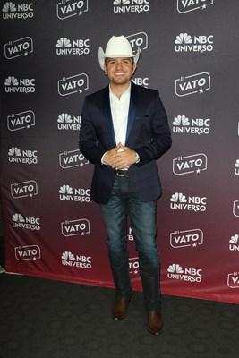 """El Dasa, actor de la serie original """"El Vato"""" de NBC UNIVERSO. Foto captada en el dia de prensa en Hollywood."""