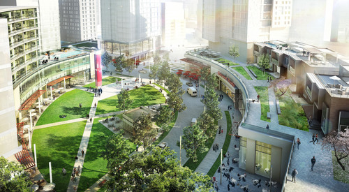 Tower Companies Announces Master Plan For The Blairs In Silver Spring