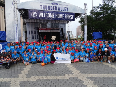 Nearly 200 WellCare associates and their families gathered for the Tampa Bay Step Out Walk to Stop Diabetes. The WellCare Community Foundation was the presenting sponsor of the walk and donated $35,000.