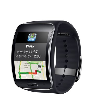 New Galaxy S6 owners can INRIX traffic and travel time updates on their Gear S smartwatch.